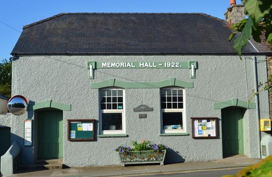 Solva Memorial Hall Reopening Update