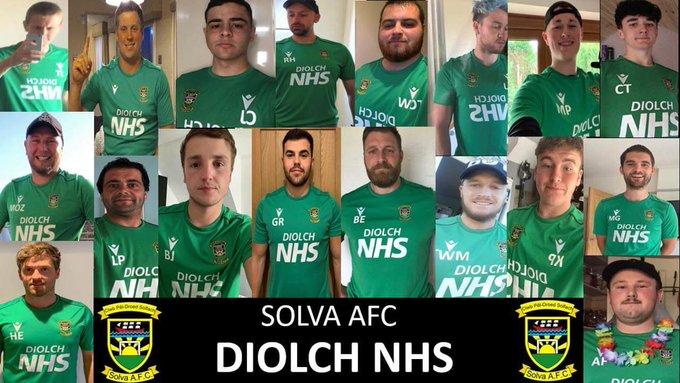New training tops for Solva AFC