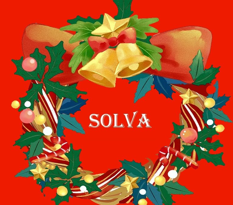 MERRY CHRISTMAS SOLVA & HAPPY NEW YEAR