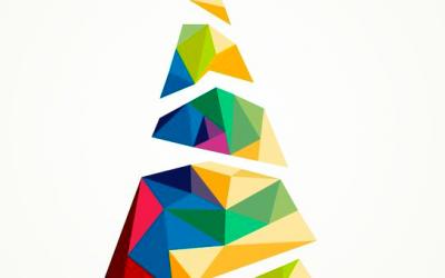 Christmas cards, Markets and Solva Christmas shopping
