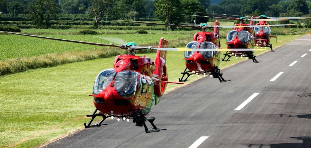 Wales Air Ambulance Charity Emergency Appeal