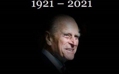 The sad loss of Prince Philip, Duke of Edinburgh