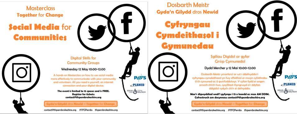Social Media masterclass 12 May