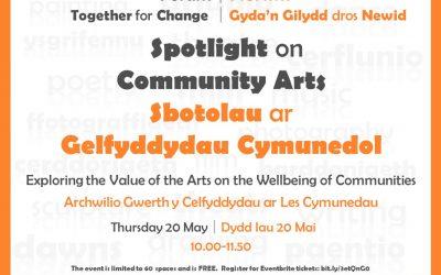 Spotlight on Community Arts – Together for Change Forum Event