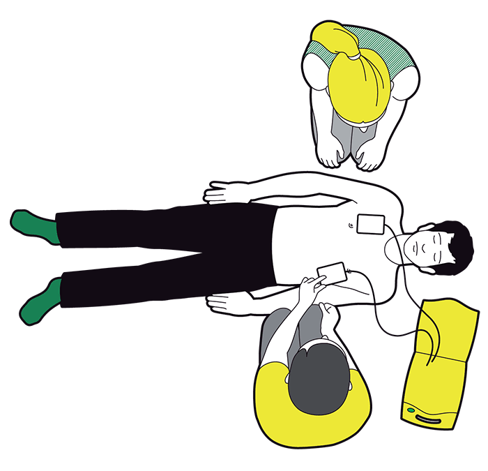Basic Life Support and Defibrillator training by Welsh Hearts